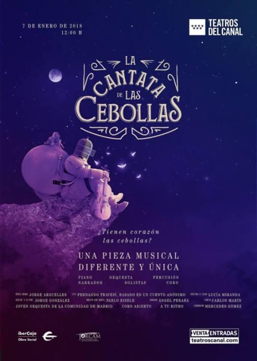 Cartel de LA CANTATA DE LAS CEBOLLAS